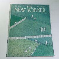 The New Yorker: July 21 1975 RO Blechman Cover full magazine