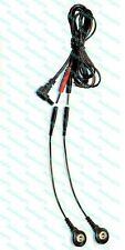 Replacement Electrode Cable for TENS 3000, 7000 Massagers - USE SNAP OR PIN PADS