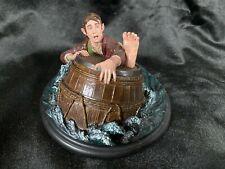 "Weta Lord Of The Rings The Hobbit ""Bilbo Baggins Barrel Rider Statue Figure Bust"