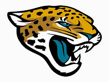 """Jacksonville Jaguars Decal Indoor - Outdoor - Car-  Truck - Window 4"""" x 5.3"""""""