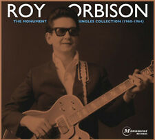 The Monument Singles Collection Roy Orbison Audio 2 CD DVD 3 Disc