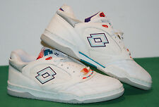 vintage lotto MATCH POINT becker shoes 1991 tennis NOS OPEN