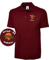 MIYAGI - DO Cobra Kai Embroidered UC101 Polo Top Karate Kid Movie Unisex Top