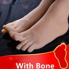 Silicone Men Feet Mannequin One Right Left Lifelike Model Legs Display Eur44