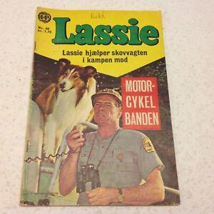 Lassie Vintage Comic 1968 No 40 Danish Version Comic Original Complete Denmark