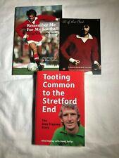 Manchester United Book Bundle - George Best & Alex Stepney (signed) RRP £37.99