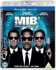 Men in Black III Blu-ray 3d UV Copy 2012 Region B C