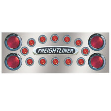 """Freightliner 14 Inch Rear Panel for 4 x 4"""" Round and 12 x 2"""" Lights w/o Back"""