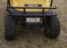 Club Car Precedent Golf Cart 16ga Front Brush Guard/Bumper No Drilling  USA Made