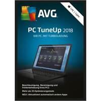AVG PC TuneUp 2018 * 1 PC * 1 Jahr * Vollversion * auch 2017 * Lizenz