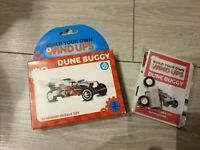 Build Your Own Wind Up Dune Buggy New Fizz 3D Moving Puzzle Toy