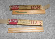 Vintage - Scripto Drawing Leads Containers