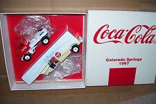 1997 Coca Cola Colorado Springs  Winross Diecast Beverage Trailer Truck