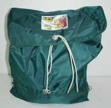 Vintage Style World Famous Alpine D Ring Back Pack No 782 Hunter Green EUC