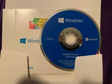 Microsoft Windows 10 Home 64 Bit Full Version DVD & product Key-Brand New Sealed