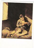 1978 BARTOLOME MURILLO The Young Beggar boy art French Vintage postcard