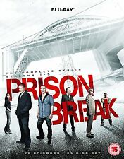 Prison Break Complete Season Series 1, 2, 3, 4 & 5 Blu ray Box Set Final Break