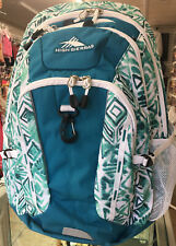 High Sierra Riprap Lifestyle Backpack Daypack   Green / White