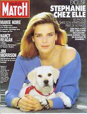 COUVERTURE de MAGAZINE,COVERAGE Match n° 2187 25/04/91 Stéphanie de Monaco