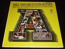 MEL TAYLOR AND THE MAGICS 33RPM LP IN ACTION! ROCK BEAT INSTRO WB PROMO LABEL