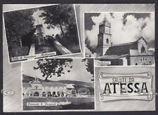 CHIETI ATESSA 04 SALUTI da... VEDUTINE Cartolina FOTOGRAFICA viaggiata 1968