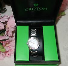 Croton Women's Watch Stainless Steal CN 207377 NEW WITH BOX