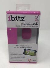 iBitz by GeoPALZ Wireless Activity Tracker for KIDS Pink NEW!