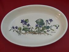 "Villeroy & Boch Vilbofour Botanica Oval Baker 14 3/4"" - Viola Odorata"