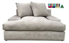 'Heaven' 1.5 Seater in Feather Wrap T seat cushions__Sofa Lounge_Aussie Made