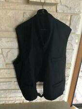 New listing Vest, Black Wool, New, Civil War, Size 54