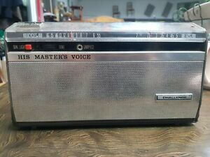His Masters Voice Challenge Wireless Radio Transistor for Parts