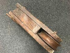 ANCIENNE GRANDE POULIE  EN BOIS