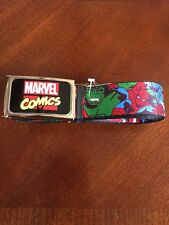 Avengers Hulk Thor Iron Man Buckle Down Belt Marvel Comics Brand New (0009)