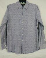 INC International Concepts Men's  Paisley Button Front Shirt Size XL Extra Large