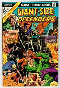 Marvel GIANT-SIZE DEFENDERS #2 - Kane Cover & Art - G/VG 1974 Vintage Comic