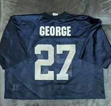EDDIE GEORGE Puma TENNESSEE TITANS Blue Practice Jersey 2XL XXL NFL McNair OSU