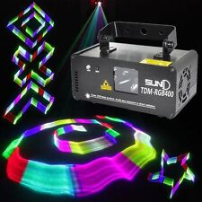 SUNY Stage Light DMX 3D Effects RGB Laser DJ Red Green Blue Full TDM-RGB400