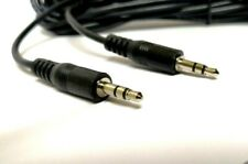 30FT 3.5mm AUX Headphone Cable Male to Male Car Stereo Audio iPhone Samsung PC