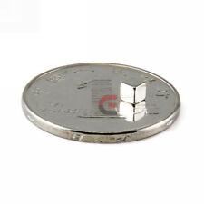 100pcs N35 3 x 3mm Neodymium Magnets Cube Block Disc Super Strong Rare Earth