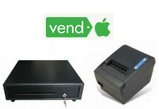 VENDhq Square iPAD  Certified - Printer & 16in Cash Drawer Bundle NEW