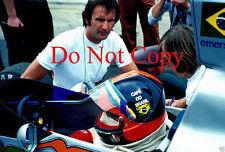Emerson fittipaldi copersucar F1 portrait 1976 photo 2