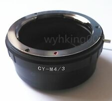 Contax Yashica CY Lens To micro four thirds m4/3 Adapter GF3 GH4 GH3 GX1 G5 G1