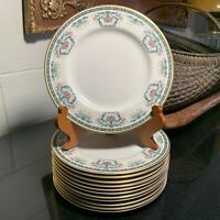 """Pickard Navarre Hand Decorated 8 3/8"""" Salad Plate USA Excellent - 12 Avail."""