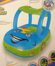 Enfants gonflable bébé flotteur siège bateau voiture Sun Shade piscine d'eau Canopy