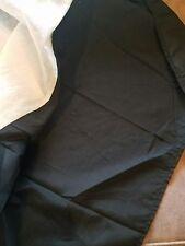 "Black Twin Bed Skirt, MAINSTAYS, 14"" Drop"