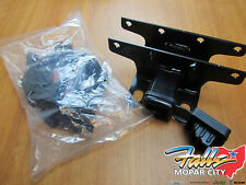18-20 Jeep Wrangler JL Trailer Tow Hitch Receiver and 7 Way Wiring Kit Mopar OEM
