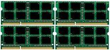 32GB (4x8GB) Memory PC3-12800 SODIMM For Novatech Laptop nSpire N1594