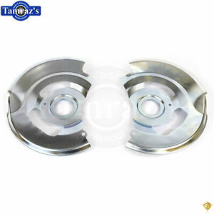 70-90 for GM Models Front Disc Brake Backing Plates / Dust Splash Shields - PAIR