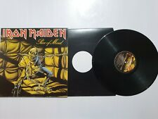 Iron Maiden Piece of Mind Lp vinilo 1983 made by EMI Records Uk