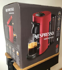 Nespresso Vertuo Plus coffee machine - Red (no capsules included)